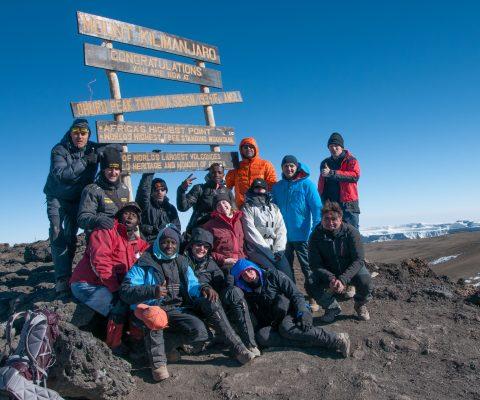 Kilimanjaro … a Uhuru Peak, il tetto dell'Africa