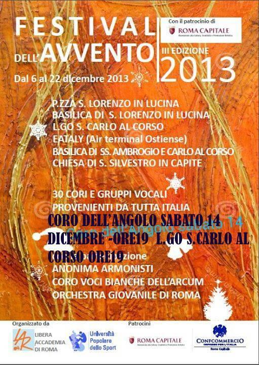 Festival Avvento 2013