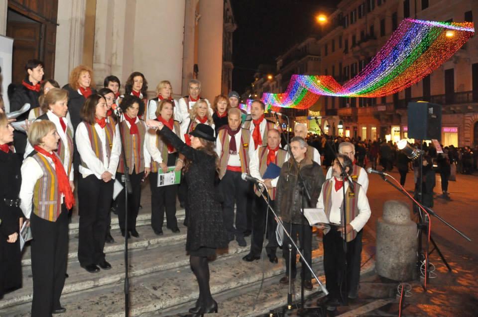 coro dicembre a roma